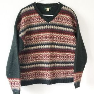 Vintage 90s wool pullover sweater